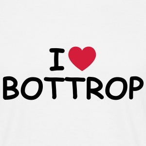 I love/heart Bottrop T-Shirt - Männer T-Shirt
