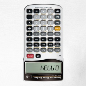 Hello calculator - T-shirt Femme