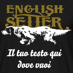 english_setter T-Shirts - Männer T-Shirt