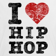 i_love_hiphop02_vintage Camisetas