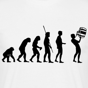 Evolution barrel beverage  T-Shirts - Men's T-Shirt