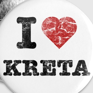 i_love_kreta_vintage Badges - Badge moyen 32 mm