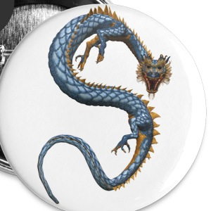 Chinese Dragon 2 - Buttons klein 25 mm