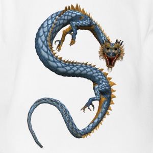 Chinese Dragon 2 - Baby Bio-Kurzarm-Body
