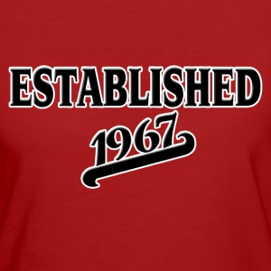 Established 1967 T-shirts - Organic damer