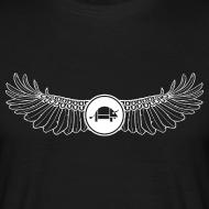 Design ~ Banoop Logo with Wings - Mens T-Shirt