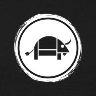 Design ~ Banoop Circular Logo - Mens T-Shirt - Black