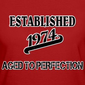 Established 1974 T-shirt - T-shirt ecologica da donna