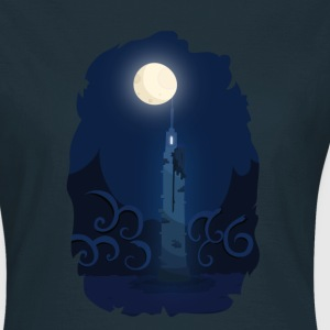 Moonlinght Tower T-shirts - Dame-T-shirt