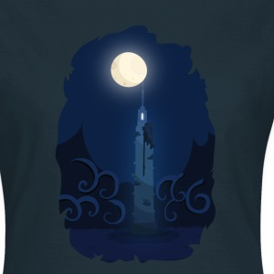Moonlinght Turm T-Shirts - Frauen T-Shirt