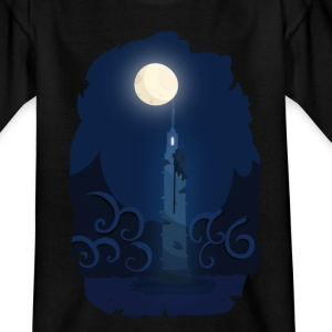Moonlinght Tower T-shirts - Børne-T-shirt