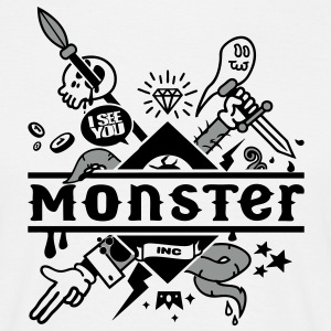 monster T-Shirts - Men's T-Shirt