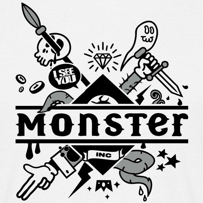[Monster Inc] blanc