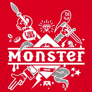 Red Red monster T-Shirts T-Shirts - Men's T-Shirt