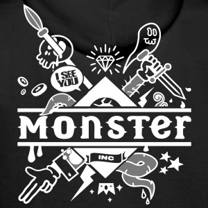 monster Hoodies & Sweatshirts - Men's Premium Hoodie