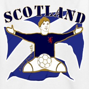 Scotland football celebration Kids' Shirts - Kids' T-Shirt