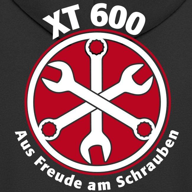 """Freude/XT 600"" Kapuzen Jacke, schwarz"
