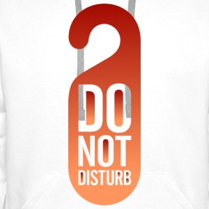Do Not Disturb (dd)++ Gensere - Premium hettegenser for menn