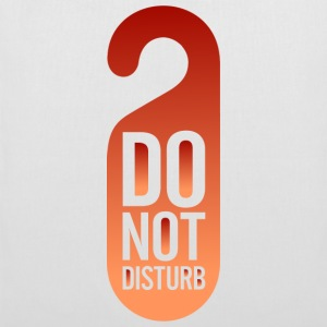 Do Not Disturb (dd)++ bolsas - Bolsa de tela