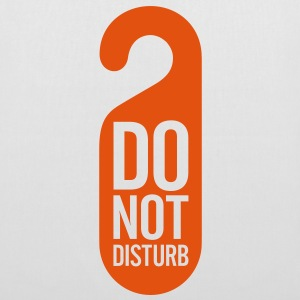 Do Not Disturb (1c)++ bolsas - Bolsa de tela