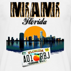 MIAMI - T-shirt Homme