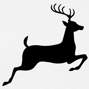 Deer (1c)++ T-shirts - Herre-T-shirt