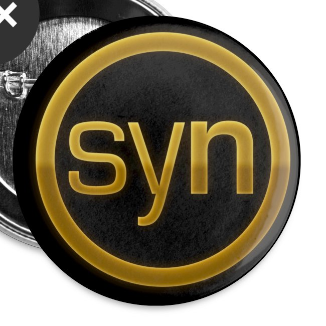 BUTTON 'SYN' GOLD