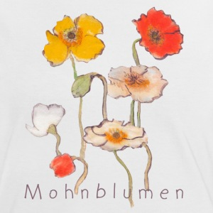 Mohnblumen by Anima - Frauen Kontrast-T-Shirt