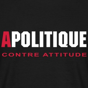 APOLITIQUE - T-shirt Homme