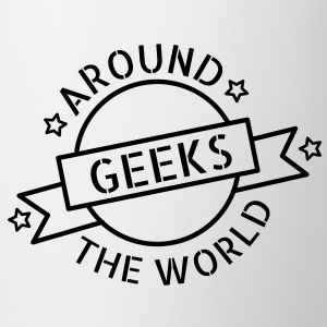 Geeks around the world Bottles & Mugs - Mug
