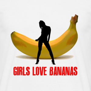 GIRLS LOVE BANANAS - T-shirt Homme