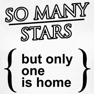 'So many stars..' Klassisk T-shirt dam - T-shirt dam