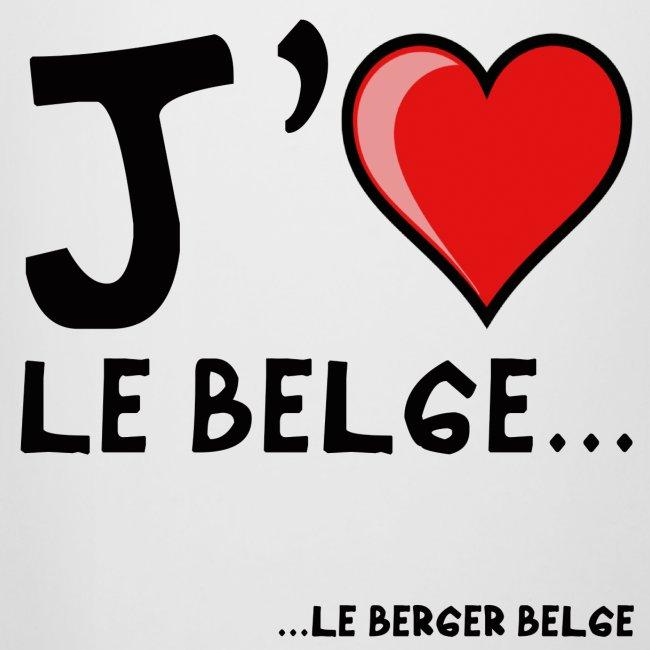 """Chope """"j'aime le belge"""""""