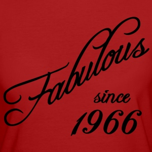 Fabulous since 1966 T-Shirts - Frauen Bio-T-Shirt