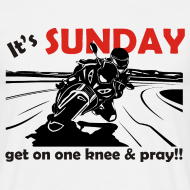 Design ~ It's SUNDAY - get on one knee & pray