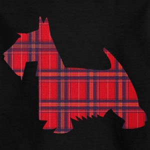 Scottish Terrier ShirtDesign Kinder T-Shirts - Teenager T-Shirt