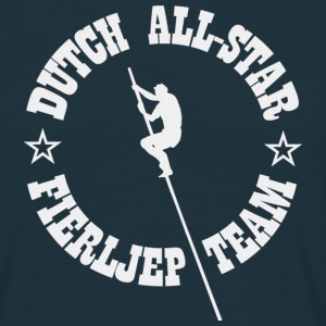 Dutch All-Star Fierljep Team - Mannen T-shirt