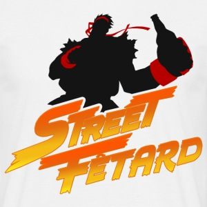 Street fighter parody - Herre-T-shirt