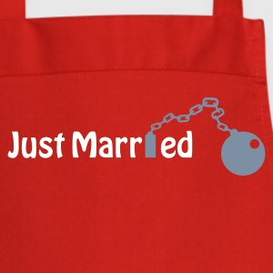 Just Married (honeymoon, newlyweds)  Aprons - Cooking Apron