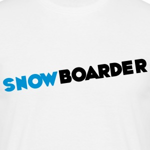 Snowboarder, Snowboards, Snowboarding T-Shirts - Camiseta hombre