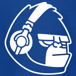 Gorilla Headphones Music Shirts - Kids' T-Shirt