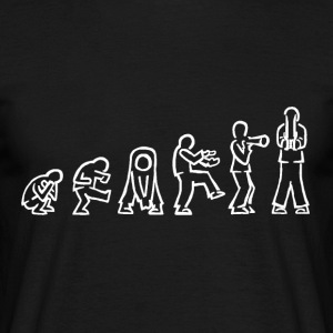 evolution of forms raw - Männer T-Shirt