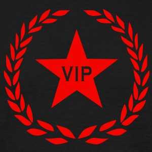 VIP im Stern Herren Party T-Shirt Very Important Person - Männer T-Shirt