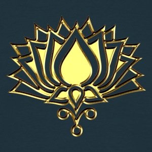 GOLDEN LOTUS/ c /symbol of divinity, enlightenment and higher consciousness/ LOTOS I Camisetas - Camiseta hombre