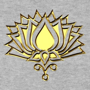 GOLDEN LOTUS/ c /symbol of divinity, enlightenment and higher consciousness/ LOTOS I Felpe - Felpa da uomo
