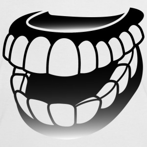 Teeth (dd)++ T-shirts - Kontrast-T-shirt dam