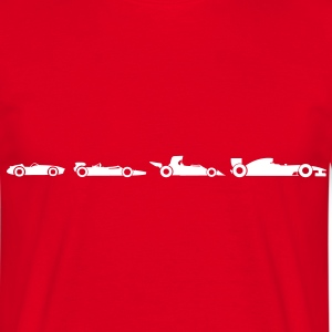 Evolution Formula 1  T-Shirts - Men's T-Shirt