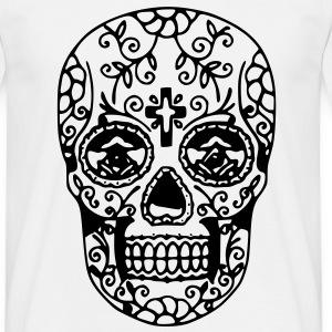 Magliette teschio messicano spreadshirt for Teschi da disegnare