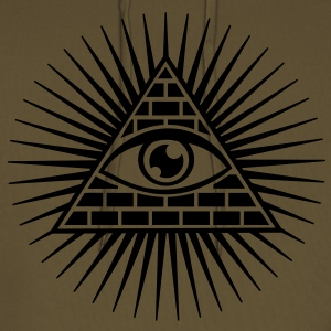all seeing eye -  eye of god / pyramid - symbol of Omniscience & Supreme Being Hoodies & Sweatshirts - Men's Premium Hoodie