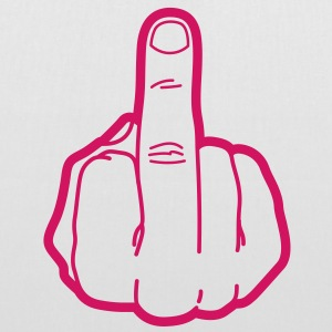 Middle Finger (1c)++ Sacs - Tote Bag